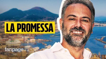 """La promessa di Catello Maresca: """"Per amore di Napoli mi dedicherò solo al bene della città"""""""