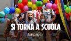 Napoli, primo giorno di scuola in presenza e in sicurezza: parlano bimbi e genitori