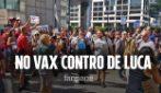 """No Vax contro De Luca: """"Giù le mani dai bambini"""""""