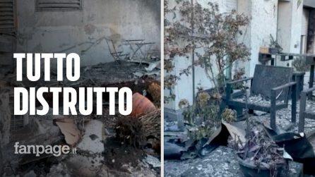 Incendio in via Antonini a Milano, le immagini di uno degli appartamenti distrutti dalle fiamme