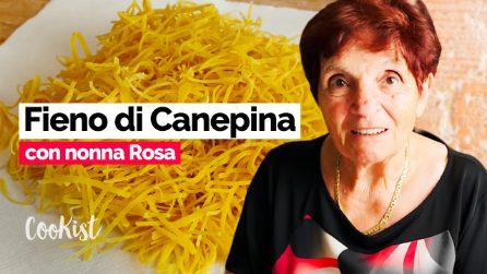 Fieno di Canepina, dal 1600 ai giorni nostri: la video ricetta di una pasta ultra centenaria