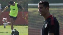 Cristiano Ronaldo già incanta tutti al Manchester United