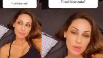"""""""Sei fidanzata?"""", la risposta di Anna Tatangelo in una storia Instagram"""