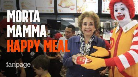 McDonald's, morta l'inventrice dell'Happy Meal: Yolanda Fernández aveva 87 anni
