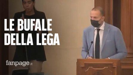 """Al convegno delle fake news sul Covid anche il capo dei senatori leghisti Romeo. IV: """"Gravissimo"""""""