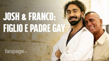 """Franco e Josh, padre e figlio gay: """"Con la nostra storia vogliamo aiutare altra gente"""""""