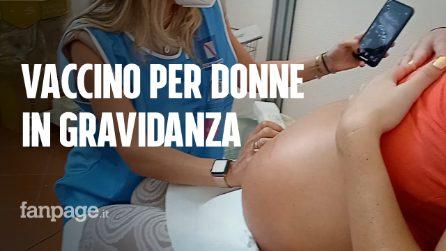 """Le future mamme si vaccinano contro Covid-19: """"È un dovere nei confronti di mio figlio"""""""