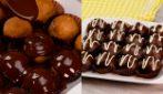 Tartufini alla banana con cioccolato fuso: veloci e irresistibili!