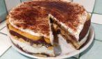 Torta senza cottura con savoiardi: la ricetta del dessert cremoso e goloso