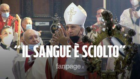 Miracolo di San Gennaro: sciolto il sangue del patrono di Napoli