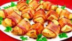 Patate al forno con pancetta: un contorno semplice e ricco di gusto