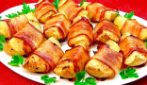 Wrapped potato: the delicious side dish very easy to make