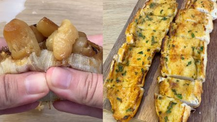 TikTok's viral garlic bread recipe: how to make it at home!