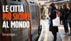 La classifica delle città più sicure al mondo, l'Italia fuori dalla top 10