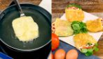 Omelette pockets: perfect for surprising your guests!