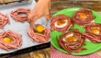 Egg baskets: an original recipe to prepare in no time!