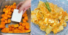 Pumpkin feta pasta: a creamy recipe to try right now!