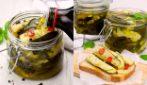 Zucchine sott'olio: il contorno saporito, perfetto con secondi di carne e pesce!