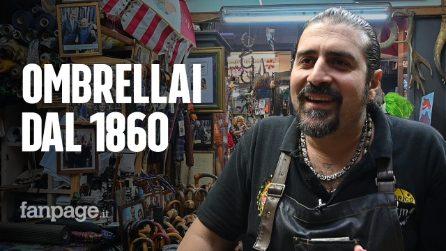 Napoli, vita da artigiani: i Talarico realizzano ombrelli da cinque generazioni
