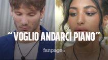 """GF Vip, il flirt tra Manuel Bortuzzo e Lulù: """"Voglio andarci piano"""""""