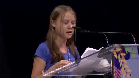 """Il discorso di Greta Thunberg al Youth4Climate: """"Per 30 anni politiche di bla bla bla su ambiente"""""""