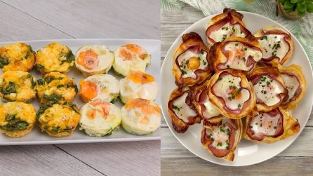 Eggs in the muffin tray: 4 recipes you will love!