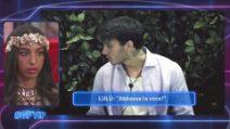 Grande Fratello VIP, la gelosia di Lulù per Manuel Bortuzzo