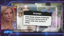 GFVip, il gossip tra Soleil Sorge e il fidanzato di Francesca Cipriani