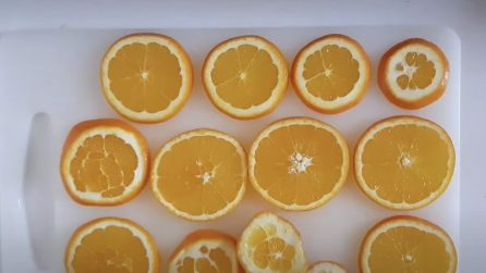How to dry the orange slices and make beautiful decorations