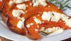 Zucca al forno con la feta: un secondo piatto veloce, buono e completo