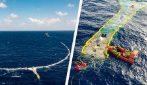 Un quantitativo impressionante di spazzatura rimossa dal Pacifico, grazie a un nuovo dispositivo