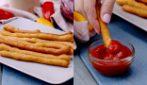 Stick di patate fritte: un'idea stuzzicante per iniziare la tua cena perfetta!