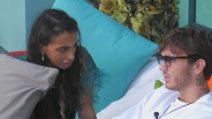 GF Vip, Manuel Bortuzzo è stufo della gelosia di Lulù Hailé Selassié