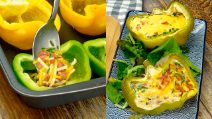 Breakfast stuffed peppers: a low carb recipe to try!
