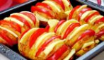 Stuffed baked potatoes: the original and mouthwatering side dish