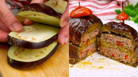 Melanzane ripiene di carne: la ricetta semplice per una cena deliziosa.