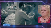 """GF Vip, il bacio """"a stampo"""" che fa infuriare Katia Ricciarelli"""