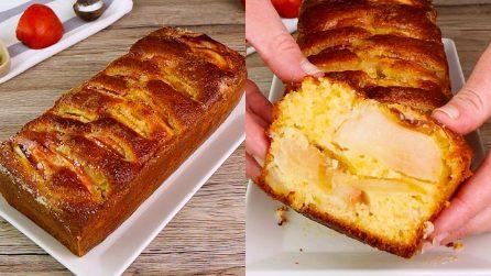 Plumcake alle mele: il dolce soffice da preparare a colazione!