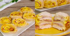 Chicken meat rolls: the original recipe to try now!