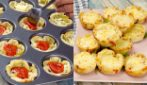 Pizza baskets: irresistible, easy to make and ready in 10 minutes!