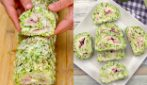 Zucchini roll: the perfect baked recipe for a delicious dinner!