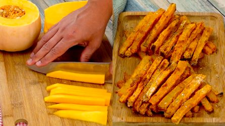Pumpkin chips: everyone will fall in love with this original side dish!