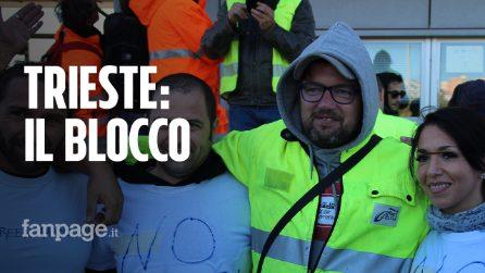 No Green Pass, il blocco del porto di Trieste: 9mila manifestanti per tutta la giornata