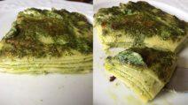 Lasagne al pesto: la ricetta del primo piatto semplice e squisito