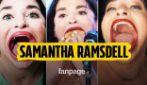 """È la donna con la bocca più grande del mondo, chi è Samantha Ramsdell: """"Oltre 14 centimetri"""""""