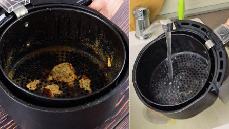 How to effectively clean your air fryer with ingredients you have at home!