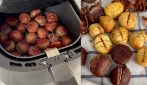 Air fryer chestnuts: how to make them perfect and peel them easily and quickly