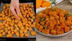 Zucca sabbiosa al forno: il contorno semplice da leccarsi i baffi!