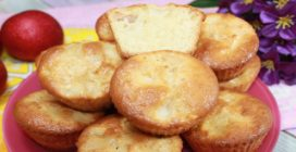 Apple muffins: the simple way to make them fluffy and tasty