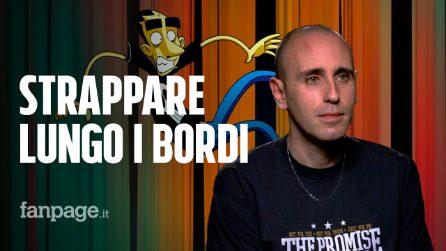 L'intervista video di Fanpage.it al noto fumettista romano